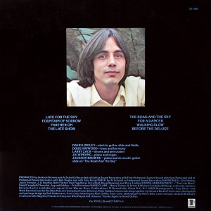 Late For The Sky (Back) - Jackson Browne