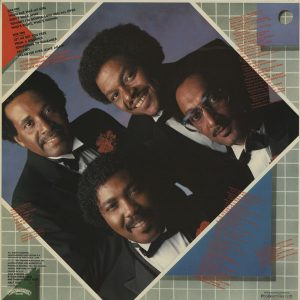 Four Tops Tonight (Back)